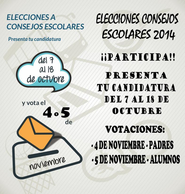 Elecciones Consejos Escolares 2014